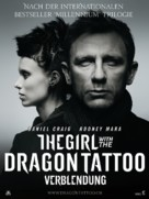 The Girl with the Dragon Tattoo - Swiss Movie Poster (xs thumbnail)