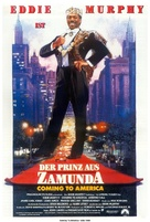 Coming To America - German Movie Poster (xs thumbnail)