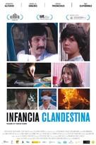 Infancia clandestina - Spanish Movie Poster (xs thumbnail)