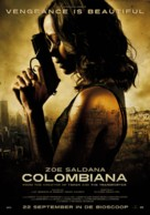 Colombiana - Dutch Movie Poster (xs thumbnail)