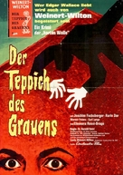 Der Teppich des Grauens - German Movie Poster (xs thumbnail)