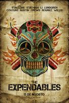 The Expendables - Mexican Movie Poster (xs thumbnail)