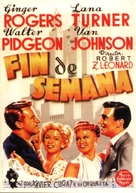 Week-End at the Waldorf - Spanish Movie Poster (xs thumbnail)