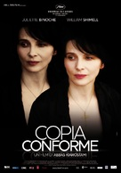 Copie conforme - Italian Movie Poster (xs thumbnail)
