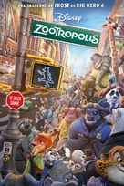 Zootopia - Danish Movie Poster (xs thumbnail)
