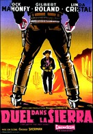 The Last of the Fast Guns - French Movie Poster (xs thumbnail)