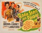 Radio Stars on Parade - Movie Poster (xs thumbnail)