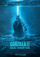 Godzilla: King of the Monsters - Slovak Movie Poster (xs thumbnail)