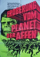 Conquest of the Planet of the Apes - German Movie Poster (xs thumbnail)