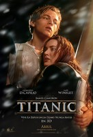 Titanic - Mexican Re-release movie poster (xs thumbnail)