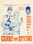 Carry on Spying - British Movie Poster (xs thumbnail)