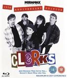 Clerks. - British Blu-Ray movie cover (xs thumbnail)