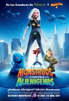 Monsters vs. Aliens - Spanish Movie Poster (xs thumbnail)