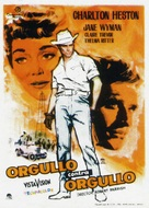 Lucy Gallant - Spanish Movie Poster (xs thumbnail)