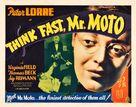 Think Fast, Mr. Moto - Movie Poster (xs thumbnail)