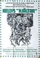 Kelly's Heroes - Swedish Movie Poster (xs thumbnail)