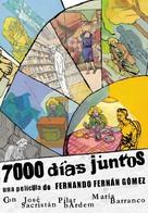 Siete mil días juntos - Spanish Movie Poster (xs thumbnail)