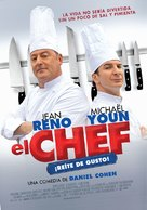 Comme un chef - Uruguayan Movie Poster (xs thumbnail)