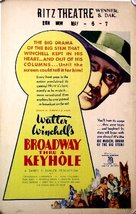 Broadway Through a Keyhole - Movie Poster (xs thumbnail)