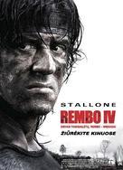 Rambo - Lithuanian Movie Poster (xs thumbnail)