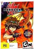 """Bakugan Battle Brawlers"" - Australian DVD movie cover (xs thumbnail)"