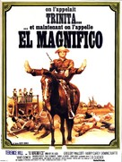 E poi lo chiamarono il magnifico - French Movie Poster (xs thumbnail)