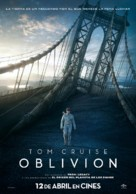 Oblivion - Spanish Movie Poster (xs thumbnail)