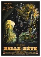 La belle et la bête - French Movie Poster (xs thumbnail)