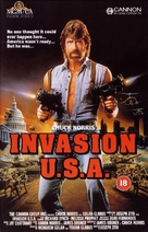 Invasion U.S.A. - British Movie Cover (xs thumbnail)