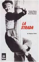 La strada - Spanish Movie Cover (xs thumbnail)