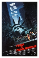 Escape From New York - Brazilian Movie Poster (xs thumbnail)