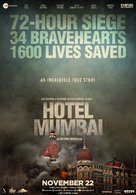 Hotel Mumbai - Indian Movie Poster (xs thumbnail)