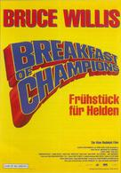 Breakfast Of Champions - German Movie Poster (xs thumbnail)
