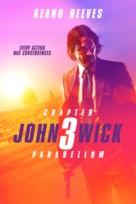 John Wick: Chapter 3 - Parabellum - Danish Movie Cover (xs thumbnail)