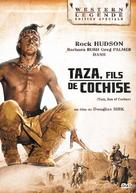 Taza, Son of Cochise - French DVD movie cover (xs thumbnail)