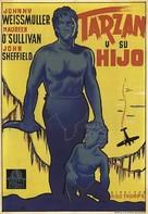 Tarzan Finds a Son! - Spanish Movie Poster (xs thumbnail)