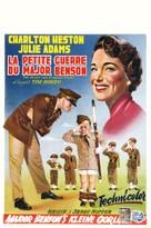 The Private War of Major Benson - Belgian Movie Poster (xs thumbnail)