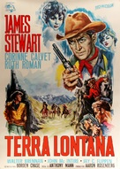 The Far Country - Italian Movie Poster (xs thumbnail)
