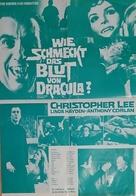 Taste the Blood of Dracula - German poster (xs thumbnail)