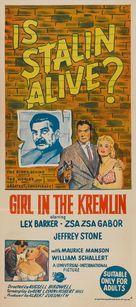 The Girl in the Kremlin - Australian Movie Poster (xs thumbnail)