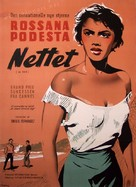 La red - Danish Movie Poster (xs thumbnail)