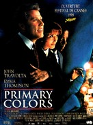 Primary Colors - French Movie Poster (xs thumbnail)