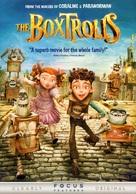 The Boxtrolls - DVD movie cover (xs thumbnail)
