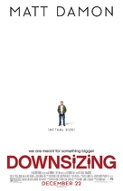 Downsizing - Theatrical movie poster (xs thumbnail)