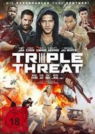 Triple Threat - German Movie Cover (xs thumbnail)