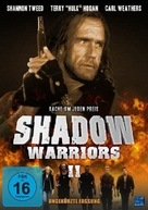 Shadow Warriors II: Hunt for the Death Merchant - German DVD movie cover (xs thumbnail)