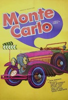 Monte Carlo or Bust - Romanian Movie Poster (xs thumbnail)