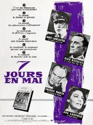 Seven Days in May - French Movie Poster (xs thumbnail)