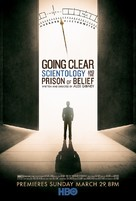 Going Clear: Scientology and the Prison of Belief - Movie Poster (xs thumbnail)