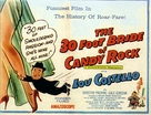 The 30 Foot Bride of Candy Rock - British Movie Poster (xs thumbnail)